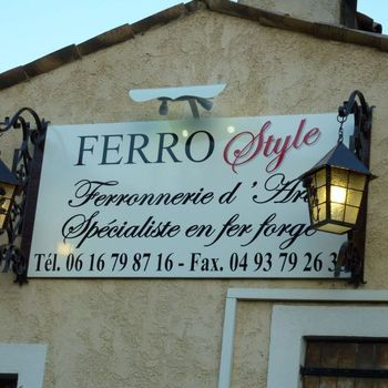 Ferro Style - Notre enseigne